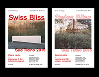 Swiss Bliss - posters and flyer