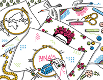 Illustration for 'Bina'.
