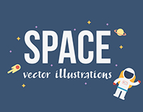 SPACE: vector illustrations