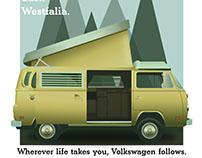 Vintage Westfalia Ad