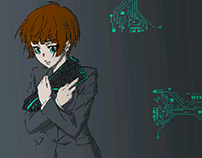 Psycho Pass Pop Art