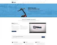 Teport Latin America - Página Web