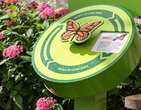 Botanica Gardens Butterfly House Interactive Signage