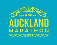 Auckland Marathon Identity Concept