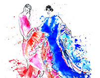 Fashion illustrations - XII