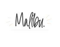 Malibu | Handwritten Font + Extras