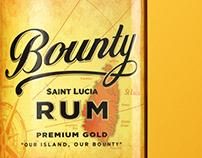 Bounty Rum, range