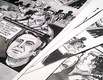 Komiks konkursowy o Radomskiej Solidarności