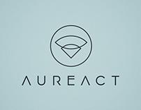 Aureact – naming & logo