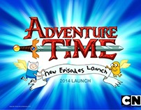 Adventure Time New Episodes Launch 2014