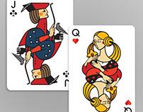Poker cards design