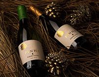 Pinha Ribeiro Santo || Wine Packaging Design