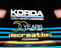 Korda/Nemeth  50 years of Sports & Rec Projects