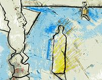 Series of Line Drawings