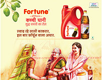 Ad-Agency - ogilvydo Bangalore-FORTUNE OIL