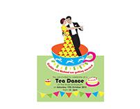 Tea Dance Wedding invite