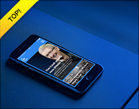 20 Minuten App Redesign | News Magazin App Concept