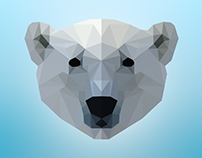 Low Polygon Portraits of Animals and People