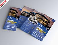 Marketing Business Tri-Fold Brochure PSD