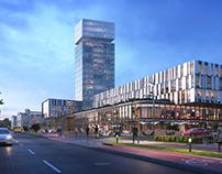 Dolce Vita Business Center Concept. Lviv, Ukraine