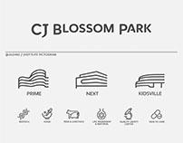 CJ Blossom Park Visual Identity & Wayfinding System