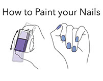 Visual Explanation: How To Paint Your Nails