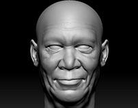 Random Face Sculpts