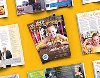 Editorial Design: TIRC Magazine Issue 41