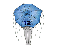12th Woman Umbrella