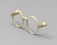 customizable eyeglass frame by studio inbetween
