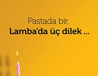 Campaign Dergisi 3. yıl kutlama ilanı