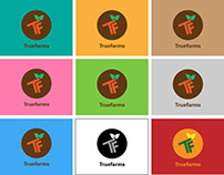 Truefarm Branding & App Design Work