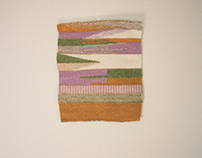 Untitled Weaving (in warm colors)
