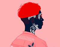 red vibes // illustrations