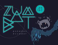 ZUMBAT 41 · pokedex Ecuador