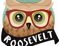 Roosevelt the Owl - Character Design