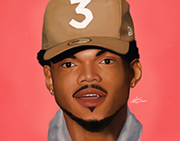 Chance the Rapper Digital Painting