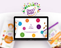 Daco Bello - Website - Redesign concept