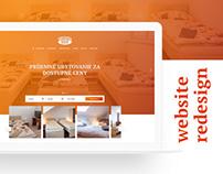 UbytovnaSisi.sk - hostel web design