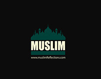 Muslim Refliction - LOGO DESIGN