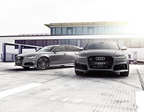 Audi A6 (Comp.) 3.0 BiTDI quattro, RS6 Avant and R8 GT