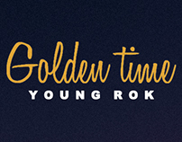 Personal Cover Art Design for Young Rok's 'Golden Time'