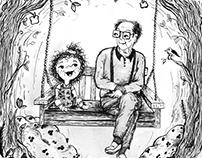 memories from childhood illustration