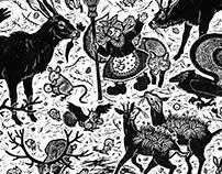 Otfried Preußler 'Die kleine Hexe' illustrations