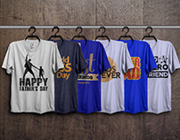 Father's T-Shirts bundle