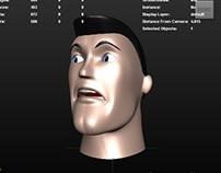Playblast - animacja - mimika