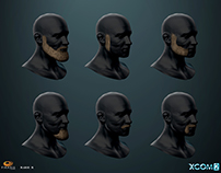 XCOM 2 Heads Beards and Hair