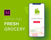 Fresh Grocery Mobile App