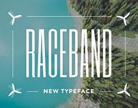 Raceband typeface