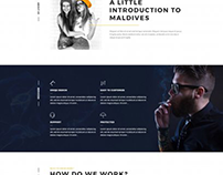 PE Maldives WordPress theme
